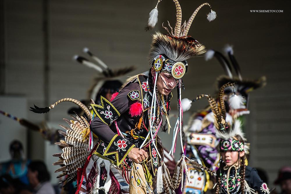 Calgary Stampede 2019. Indian Village