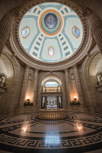 Parliament building, Winnipeg, MB