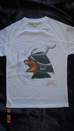 T-shirt_100% coton_Guerrier Tigre