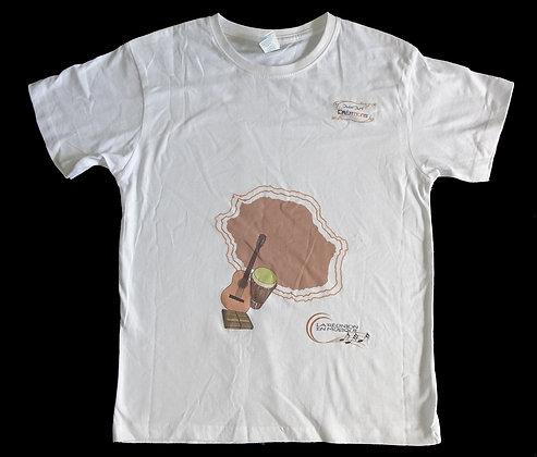 T-shirt adulte 100% Coton_la Réunion en musique