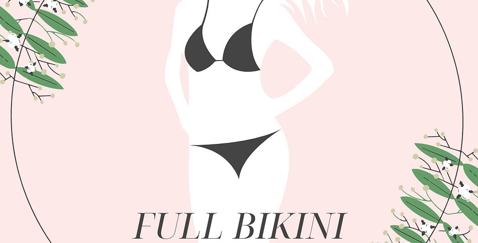 Full Bikini Xmas Sales(Free:Skin Peel/Hydrafacial X1)