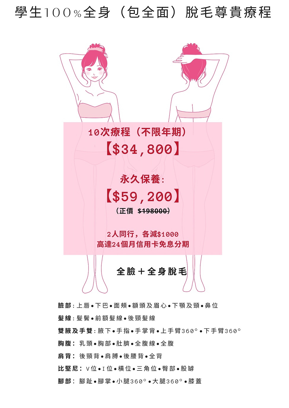 skin peel price & student laser price (1