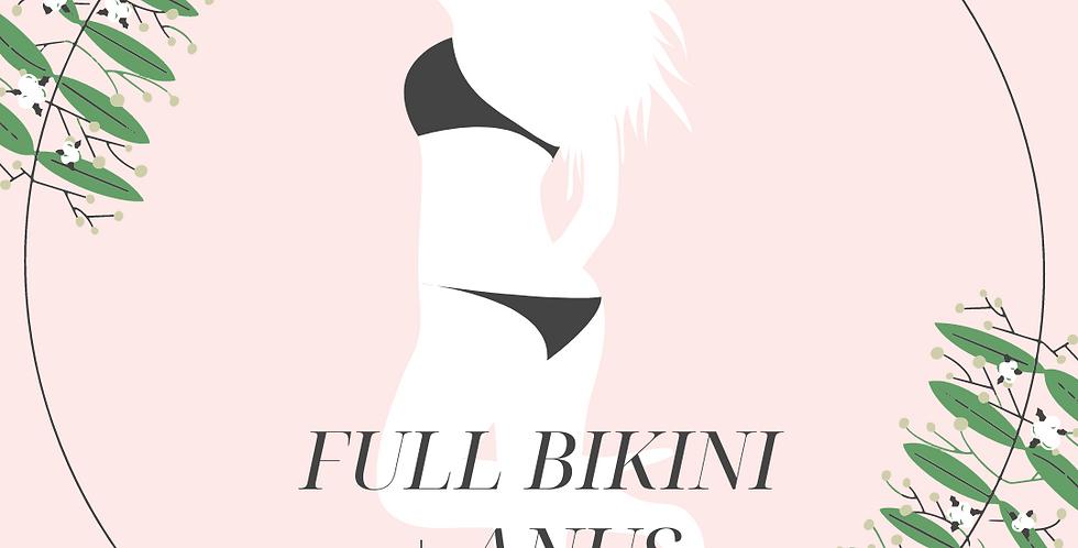 Full Bikini + Anus Xmas Sales (Free: Skin Peel/Hydrafacial X1)