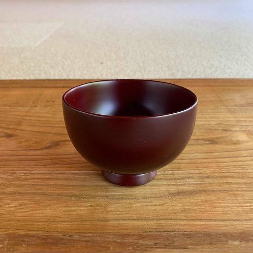 木曽漆器・古代あかね塗り つぼみ椀