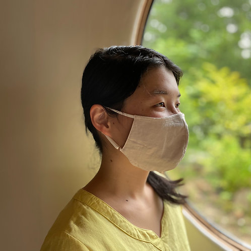 sirokaさんのうつくしい三層立体布マスク〈ノーマル〉