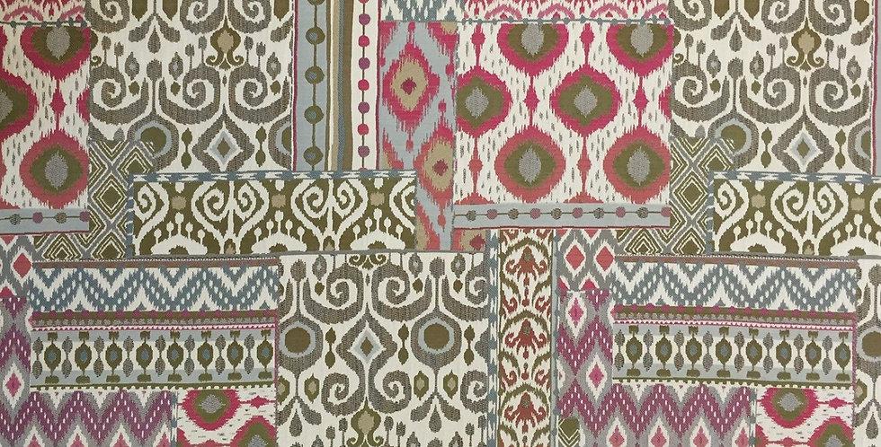 Modern Moroccan Sangri Patchwork