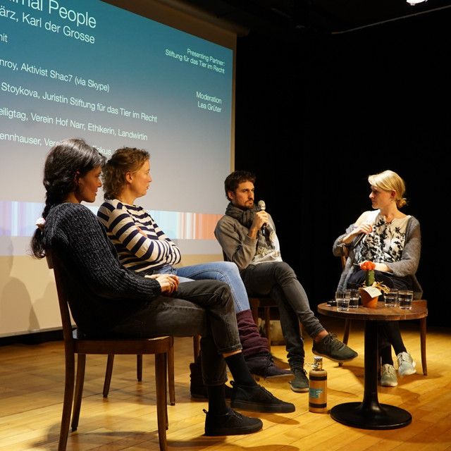 Podiumsdiskussion @filmsforfuture