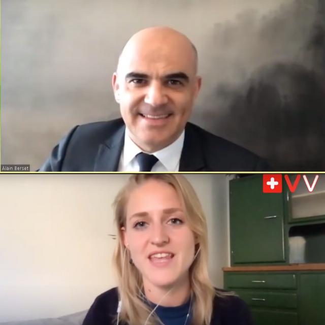 Interview mit Alain Berset