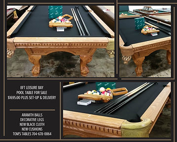 Tomstablespool Tables GALLERY - Topline pool table