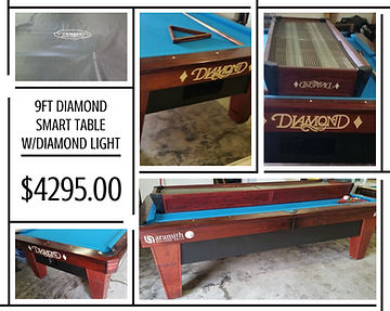 Vintage Drgonfly Light - Diamond smart table