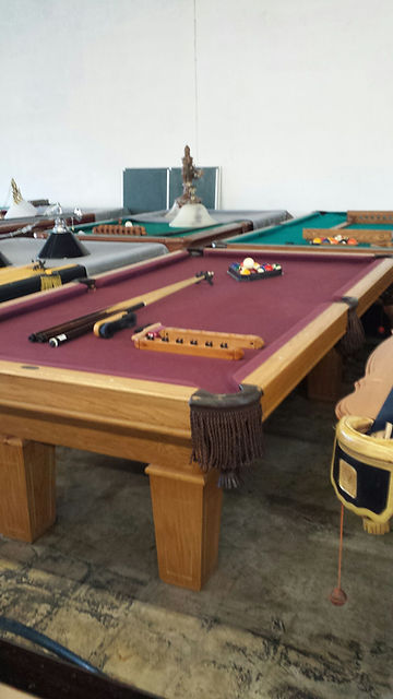 tomstables/pool tables   gallery