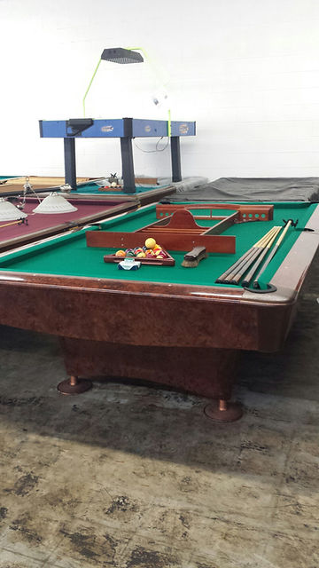Tomstablespool Tables GALLERY - Olio pool table