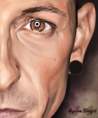 Chester Bennington Digital Painting