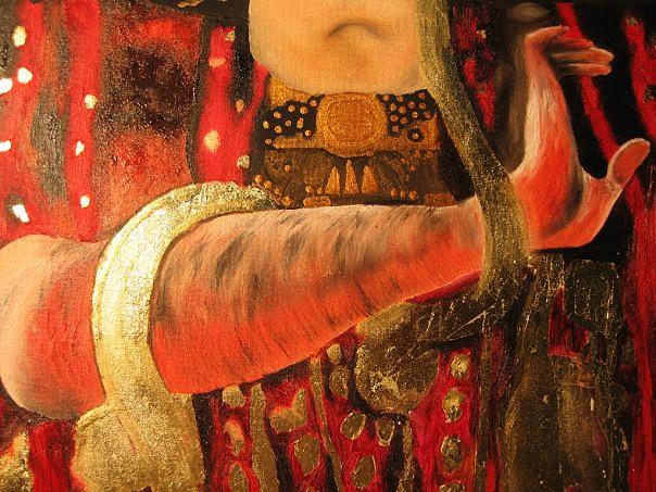 Klimt reproduction - detail