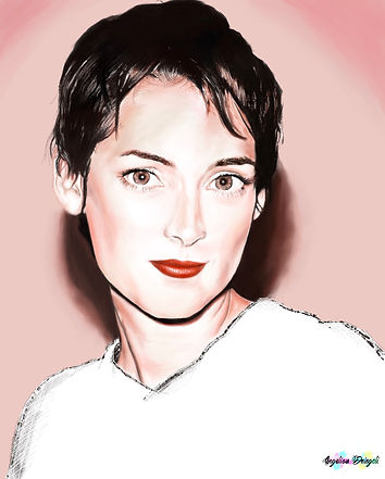 Winona Ryder - Digital Painting