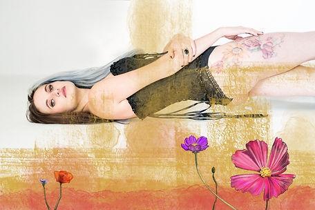 Flowers warm colours - Flowers - Digital Painting