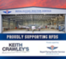Keith Crawley Supporting Royal Flying Doctor Service
