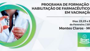 Programa de formação e habilitação de farmacêuticos em vacinação
