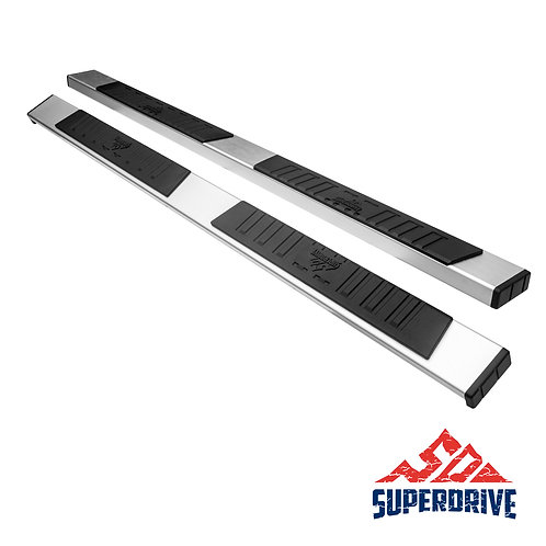 "5"" C51S Polished Running Boards Fit 2005-2018 Toyota Tacoma Double Cab"