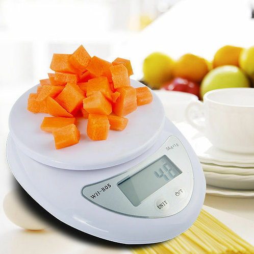 5kg/11lbs Kitchen Scale Digital Food Diet Postal Scale Weight Balance + Battery