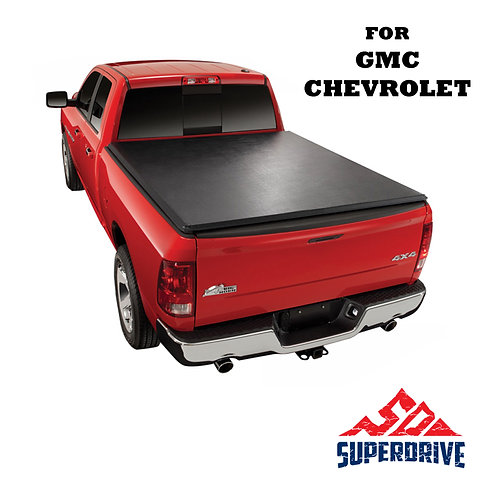 For Chevrolet/GMC 1998-2000 Roll-up Lock Soft Tonneau Truck Bed Cover