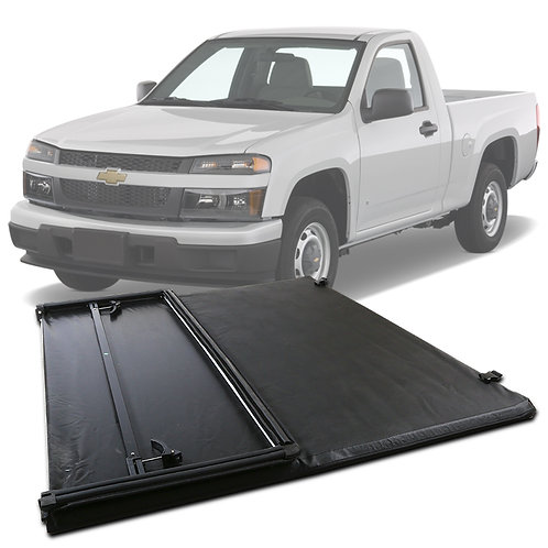 SuperDrive CT Tear-Resistant Assemble Soft Tri-Fold Tonneau Cover