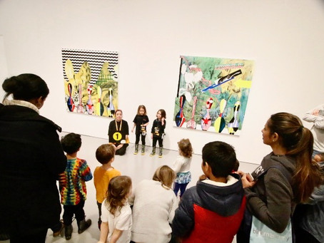 How the Hirshhorn Museum and Sculpture Garden Encourages Children to Lead Museum Tours.