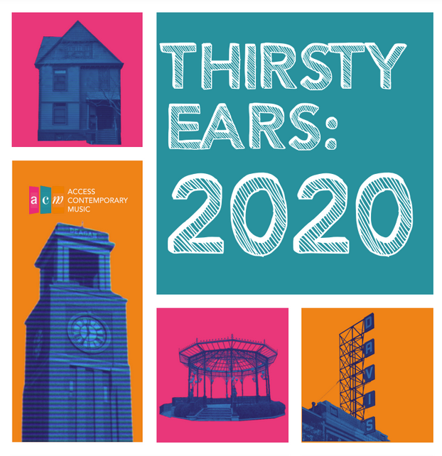 Promotional image for the 2020 Thirsty Ears Festival in Chicago.