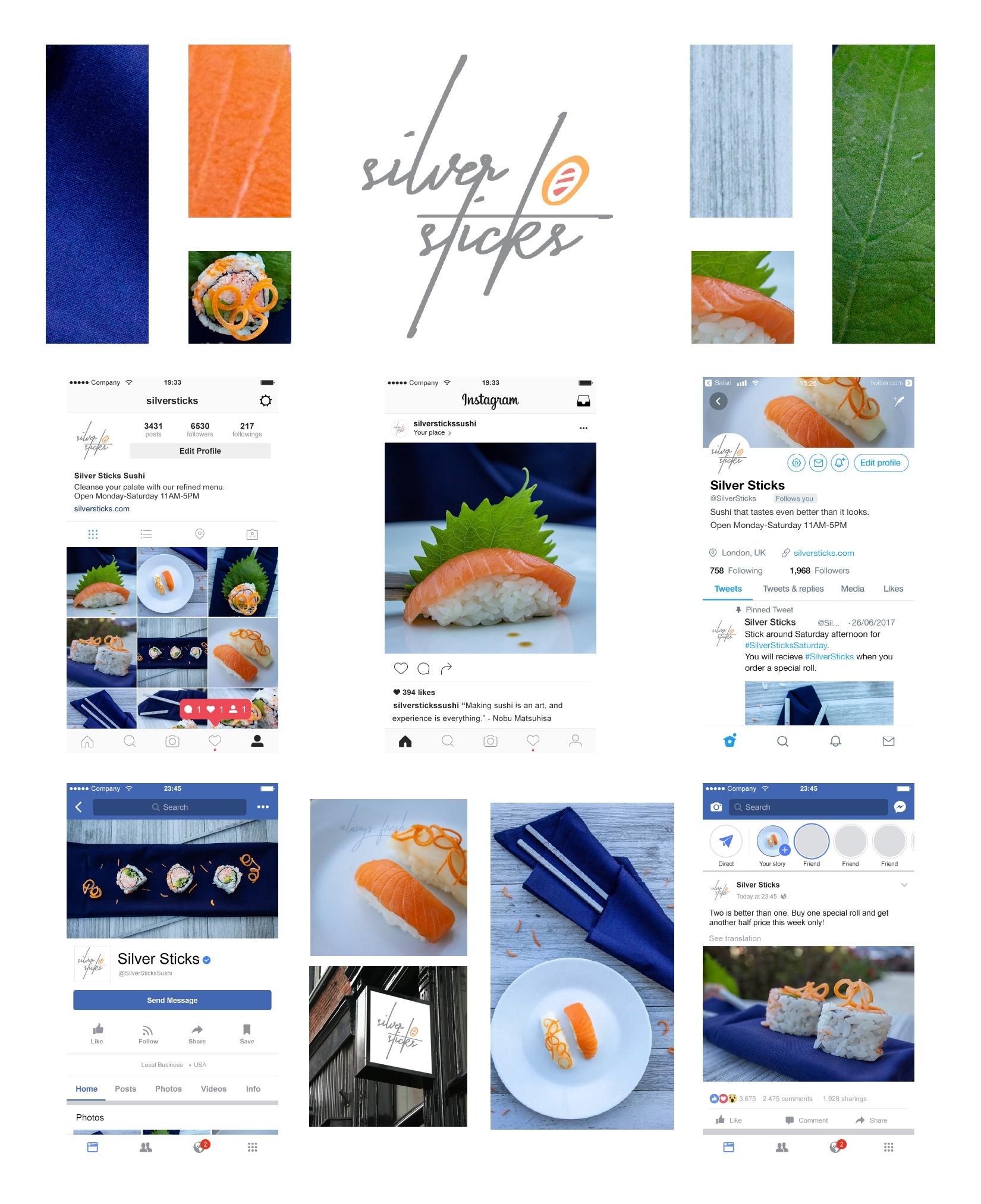 Silver Sticks Sushi