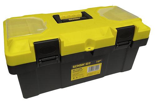"Caja De Herramientas Plastica Sensh Grande 19"""