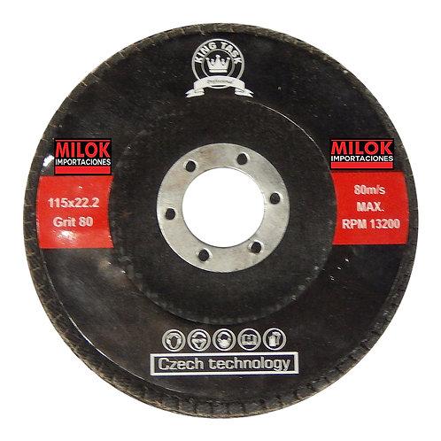 Disco Flap 4 1/2 Grano 80