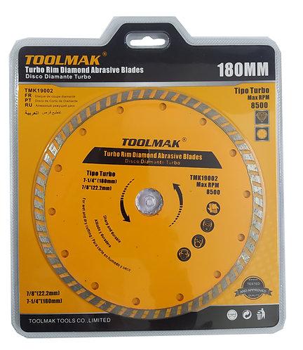 Disco Diamantado Turbo de 7 1/4 Toolmak