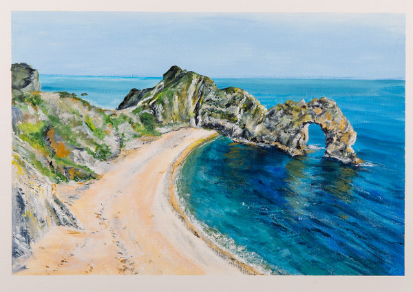 Durdle Door from SWCP
