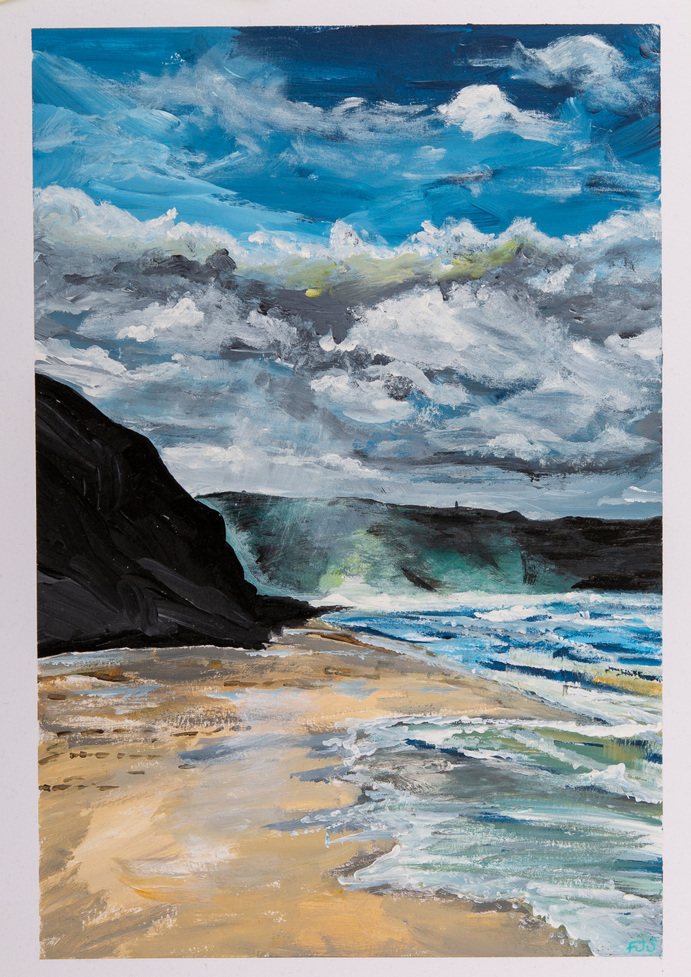 Trevellas Porth Beach