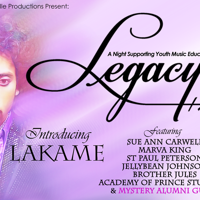Legacy, A Night Supporting Youth Music Education