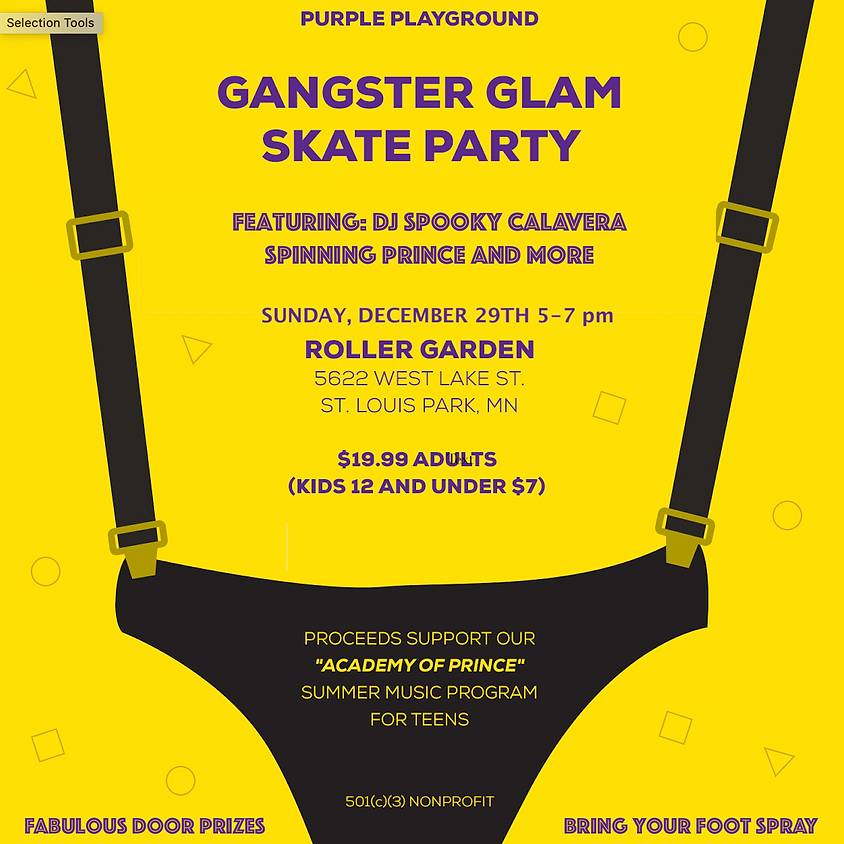 Gangster Glam Skate Party - Tickets: bit.ly/GangsterGlam3