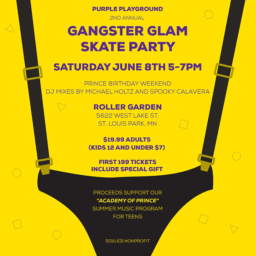 Gangster Glam Second Annual Skate Party