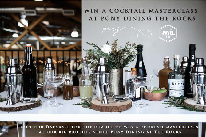 Win a Cocktail Masterclass