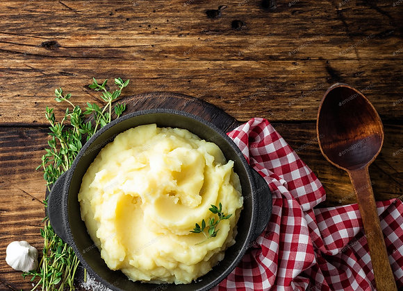 Smoked butter mash potato