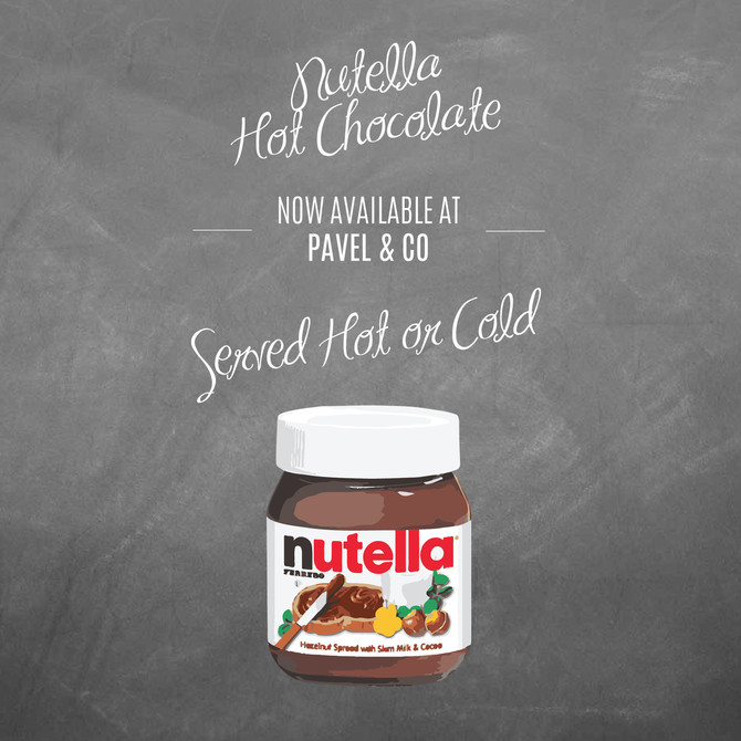NEW Nutella Hot Chocolate