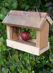 Rustic Bird Feeder $25