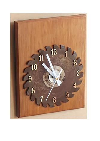 Saw Blade Clock $35