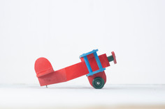 Wooden Toy Plane $15