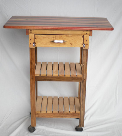 Table on castors $85