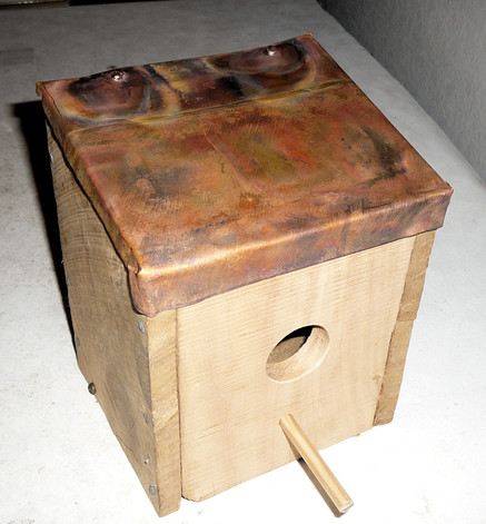 Bird Nesting Box $24