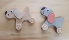 Wheeled Toy Dog $8 each