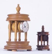 Turned Clocks $125 & $95