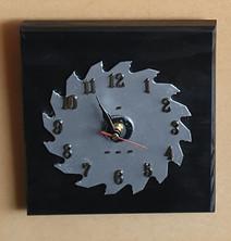 Various Clocks on Saw Blades