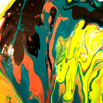 Acrylic Pouring Painting: ASM-ART Juxtaposition