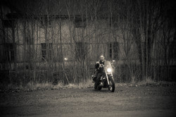 Lonely rider